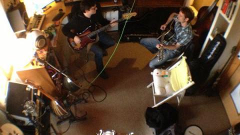 The Sensory in the studio