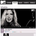The Sensory on MTV Charts